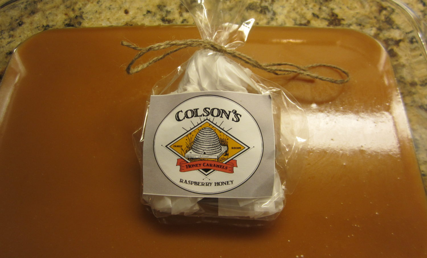 Colson's Honey Caramels